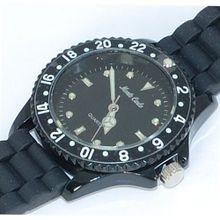 Monte Carlo Unisex Black Rubber Strap Sports M2914