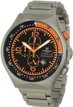 Montres De Luxe 50 MM TP ORANGE 50-mm Aluminum Chronograph