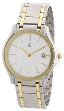 MTS Gents Stainless Steel Two Tone Ion Plated Basic Line Nr. 1465.4191