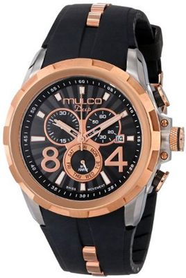 MULCO Unisex MW1-29382-025 Analog Chronograph Swiss