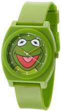 Muppets MU1004 Kermit the Frog Dial Green Plastic Strap