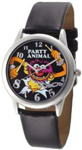 Muppets MU1007 Animal Black Dial Black Strap