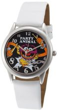 Muppets MU1008 Animal Black Dial White Strap