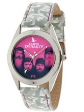 Duck Dynasty , White Simulated Leather Strap