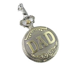 uMZB Dad Father Pocket Quartz Movement With Chain