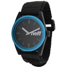 Neff Daily Velcro Designer - Black/Cyan / One Size Fits All