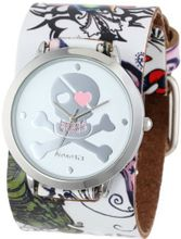 Nemesis 302-821P Punk Rock Heart Skull Tattoo Leather Band