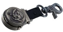 Nemesis #B3180P Pirate Skull Double Sword Clip