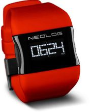 Neolog OS OLED Chilli Red Digital for men 3 Indication options