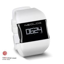 Neolog Unisex OS Snow White Digital Quartz 85300127