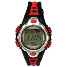 Fashion Flash Lights 50m Waterproof Chronograph Digital Sports (Red)