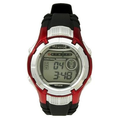 Fashion Flash Lights 50m Waterproof Chronograph Digital Sports