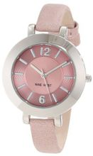 Nine West NW/1319LPLP Silver-Tone and Light Pink