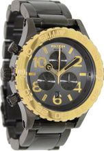 Nixon 42-20 Chrono Gun N Gold, One Size