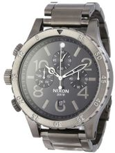 Nixon 48-20 Chrono One Size Gunmetal