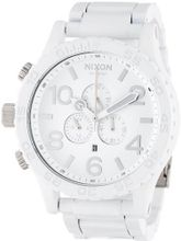 Nixon 51-30 Chrono - All White/Silver, One Size
