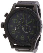 Nixon 51-30 Chrono Black / Surplus Ion-plated A0831042
