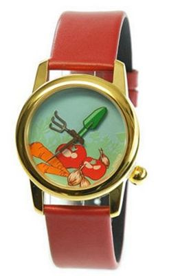 "Nomea Paris Theme with Custom Dial and Hands for - ""Veggie Garden"""""