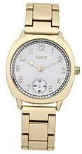 Oasis B1360 Ladies White and Gold