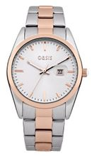 Oasis B1366 Ladies Silver and Rose Gold