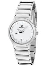 Infinity White Dial Stainless Steel