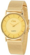 Odin 716-1M Bg Gold Plated Stainless Steel Quartz Dress