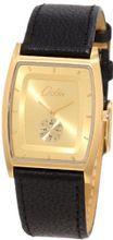 Odin 719-1M Gd Gold Plated Stainless Steel Quartz Dress