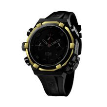 Offshore Limited Force 4 Shadow Black-Yellow Gold Chronograph