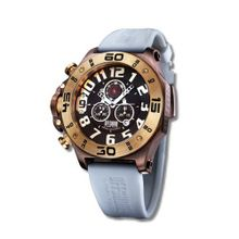 Offshore Limited Tornade Chocolate-Yellow Chronograph