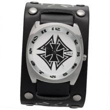 Black Double Iron Cross Band