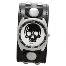 Large Black Skull Band