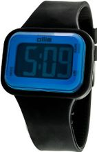 Ollie Chill Digital OL90004-D Midsize with Black Silicone Band