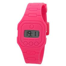 OPS! OPSFW-01 Flat Pink Fluo Digital Silicone