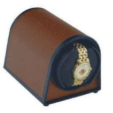 Orbita Sparta 1 Mini Leather 1- Winder - Brown Leatherette, 1- W05020