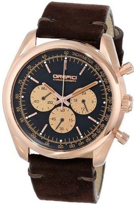 Orefici ORW16C4221 Vintage Analog Display Quartz Brown