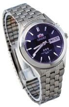 Orient #BEM5V002D Facet Glass Stainless Steel Automatic