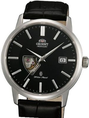 Orient Eminence Automatic Dress with Open Heart, Sapphire Crystal DW08004B