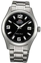 Orient #ER1X001B Chicane Stainless Steel Black Dial Self Winding Automatic