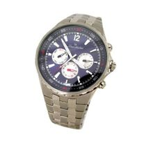 Louis Ardens Bern Blue - Silver Multifunction Stainless Steel Gents