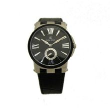 Oskar Emil Boston Elegant Ultra Thin Retro with Leather Strap