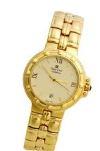 Oskar Emil Casablanca 302 Gents Gold Plated Stainless Steel with Date