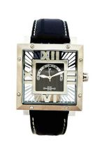 Oskar Emil Colorado Transparent Stainless Steel Black / Silver