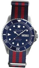 Oxygen Admiral 44 unisex quartz with blue Dial analogue Display and multicolour nylon Strap EX-D-ADM-44-NARE