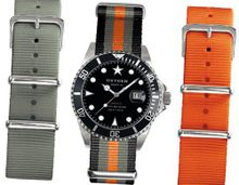 Oxygen Amsterdam 40 Set unisex quartz with black Dial analogue Display and multicolour nylon Strap EX-D-AMS-40-3S