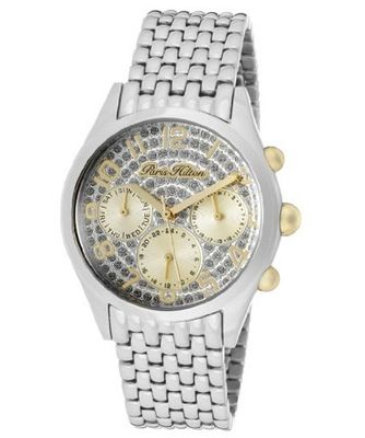 Beverly Silver Glitter Dial Stainless Steel