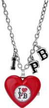 Pauls Boutique PA009RDSL Ladies Red Heart Necklace