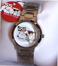 55 Years anniversary Peanuts SNOOPY WATCH Limited Timepiece