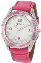 Pedre 0027SPX Sport Large Pink and Silver-Tone