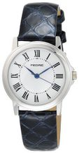 Pedre 0235SX Silver-Tone with Blue Python Strap