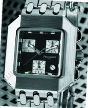 Pequignet Moorea Collection Moorea Rectangle Chronograph